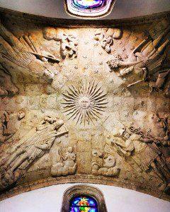 Chapel ceiling in the Dominican convent, Santo Domingo