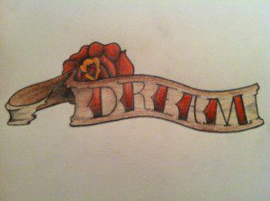 Something that my oldest son drew that reminds me to always dream.