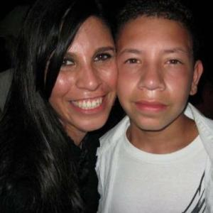 Anthony and I at a Seether concert in the summer of 2008.