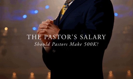 Pastor's Salary Andy Gill