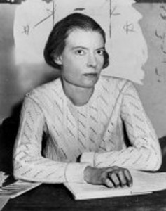 Dorothy Day in 1934. This image was originally posted to Wikimedia Commons https://commons.wikimedia.org/wiki/File:Dorothy_Day_1934.jpg. It is in the public domain.