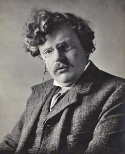 Gilbert Keith (G. K.) Chesterton. Photo credit: Ernest Herbert Mills - National Portrait Gallery via wikipedia.org / Public Domain