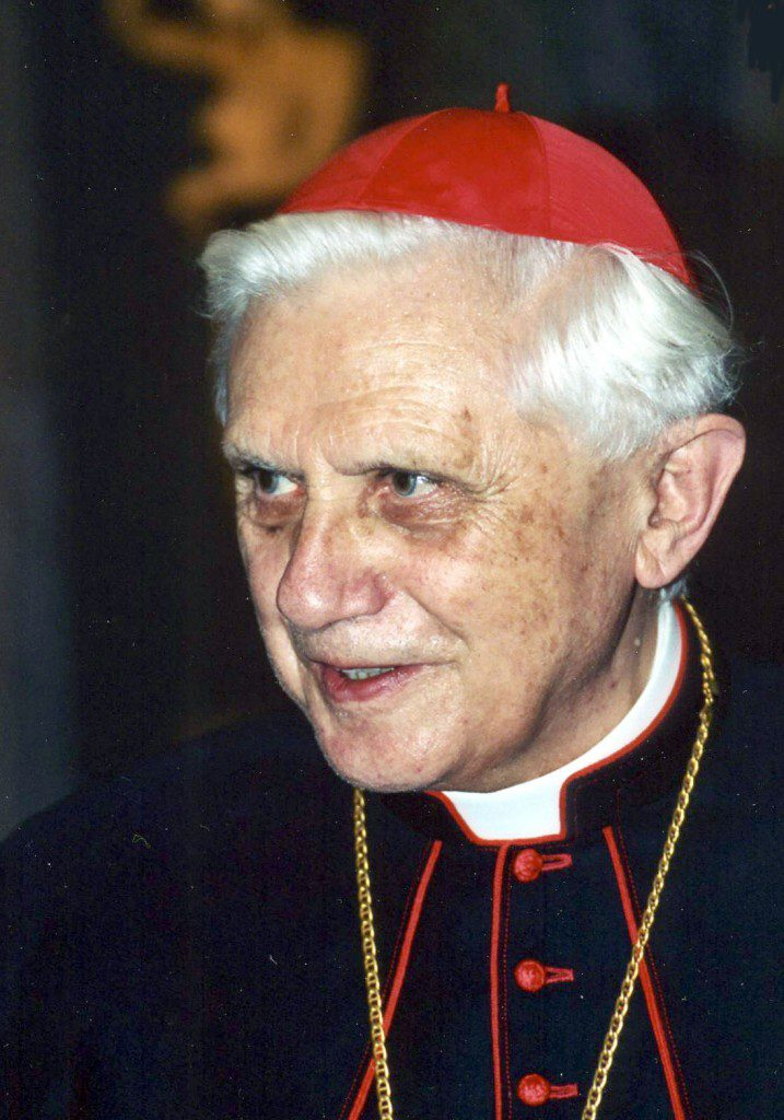 Kardinal Joseph Ratzinger. This image was originally posted to Wikimedia Commons by Manfredo Ferrari at https://en.wikipedia.org/wiki/Theology_of_Pope_Benedict_XVI#/media/File:Joseph_Ratzinger.jpg. It used under the terms of the cc-by-sa-4.0.