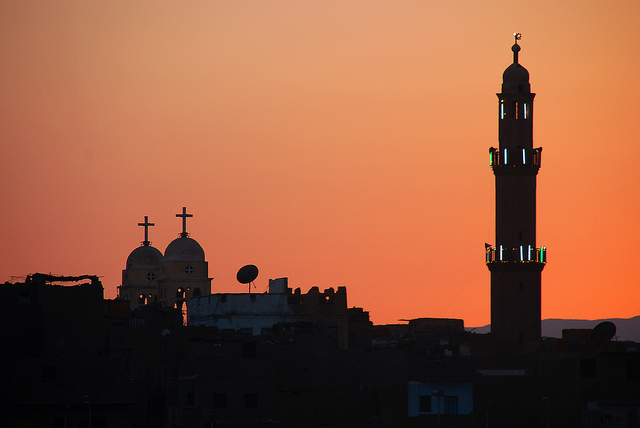 Twilight of Islam and Christianity. This image was originally posted to Flickr by David Evers (31216636@N00) at https://www.flickr.com/photos/31216636@N00/4798657732/. It used under the terms of the cc-by-sa-2.0.