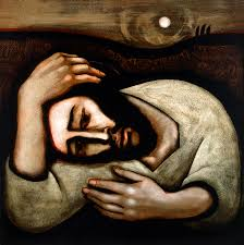 Christ in Gethsemane by Michael O'Brien