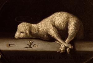 """""""The Sacrificial Lamb,"""" by Josefa de Ayala, Walters Art Museum, Baltimore"""