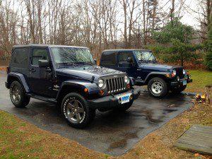 My Jeeps.