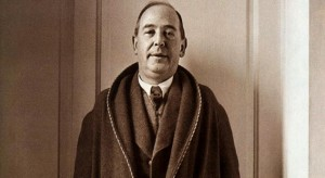 C.S. Lewis (Image of C.S. Lewis is public domain: http://bit.ly/1h5fdd9)