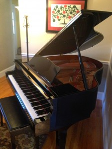 Tree of Life above the wife's piano. (Personal photo.)
