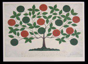 https://en.wikipedia.org/wiki/Hannah_Cohoon#/media/File:Tree_of_Life_-_Shaker_-_painted_by_Hannah_Cohoon.JPG