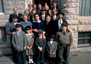 The cast of Avalon, 1990. Probably the best film about the Household Political Economy ever made,