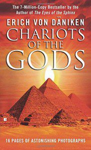 http://www.amazon.com/Chariots-Gods-Erich-Von-Daniken/dp/0425074811