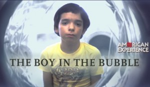 A real bubble child -- someone we should feel for. The problem with the bubble babies I'm talking about is they can't feel for people out side their bubbles. http://www.pbs.org/wgbh/amex/bubble/