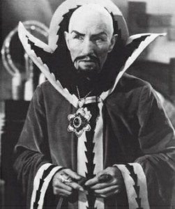 Ming the Merciless. (Check out those nails.)