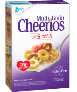 "Multi-Grain Cheerios, a product that depends on homogeneous fields of grain, a massive industrial process, to produce little crunchy ""Os"" with slightly different complexions, but which remarkably taste alike. http://www.cheerios.com/products/Multigrain-Cheerios.aspx"