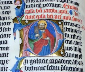 """Illuminated.bible.closeup.arp"". Licensed under Public Domain via Wikimedia Commons - https://commons.wikimedia.org/wiki/File:Illuminated.bible.closeup.arp.jpg#/media/File:Illuminated.bible.closeup.arp.jpg"