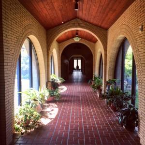 Snowmass Monastery Hallway, photo by Cassidy Hall