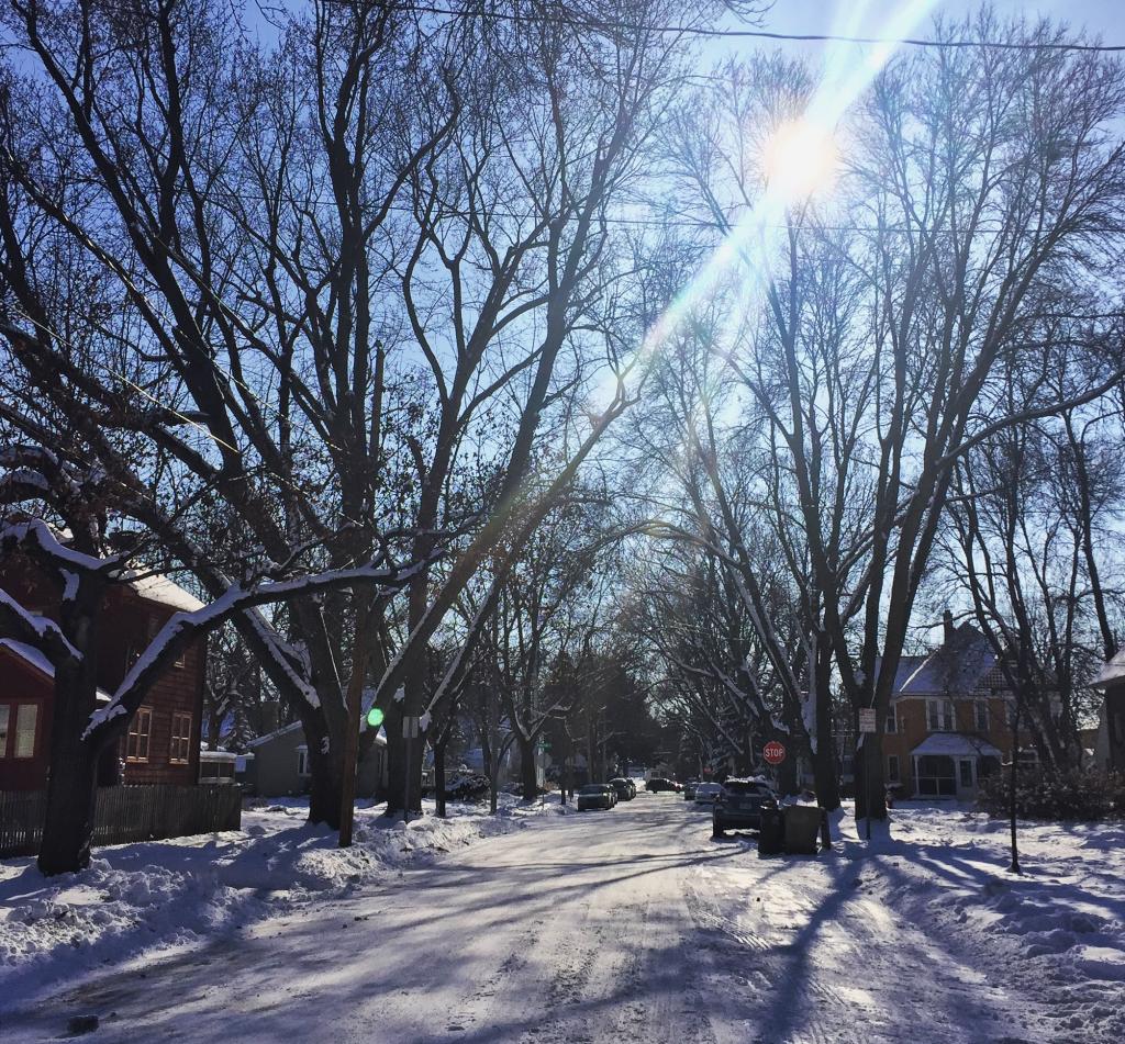 Wisconsin Winter Road