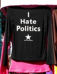 I Hate Politics T-shirt