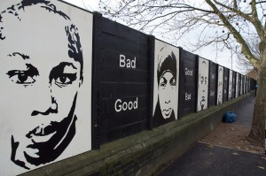 Bad and Good posters