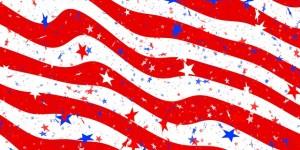 sparkly flag