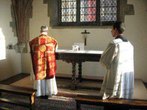 Catholic Mass at Canterbury Cathedral
