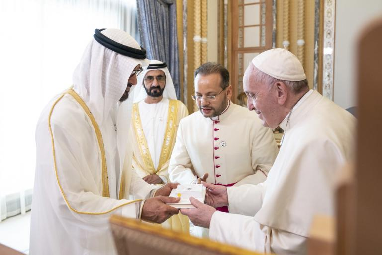 87b9ee6e2df3 Why is Pope Francis in the United Arab Emirates