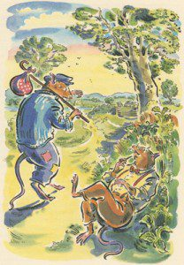The boho, sea-faring rat of Kenneth Grahame's Wind in the Willows