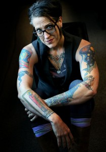 Pastor Nadia Bolz-Weber is tired of talking about her tattoos.