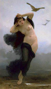 Nyx, the Goddess of Darkness and Night (public domain)