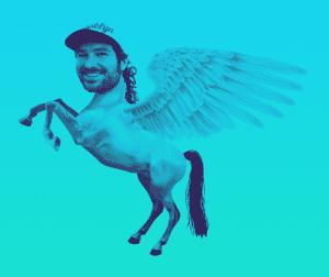 My godson, Blake Pegasus.