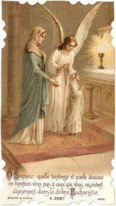 image: vintage holy card