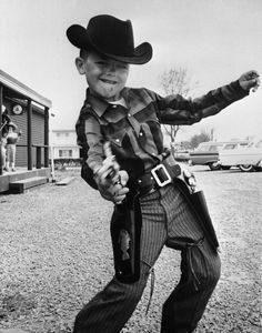 vintage cowboy, public domain