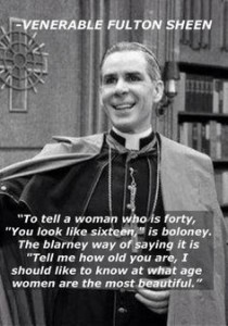 We dispute the veracity of this meme. Why is a Bishop giving advice about flirting with women? That's just...creepy.