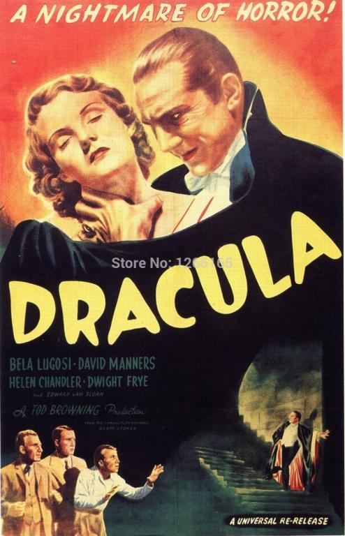 Universal Monster Movie Poster Promotional Image