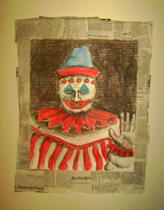 Gacy's painting of Pogo