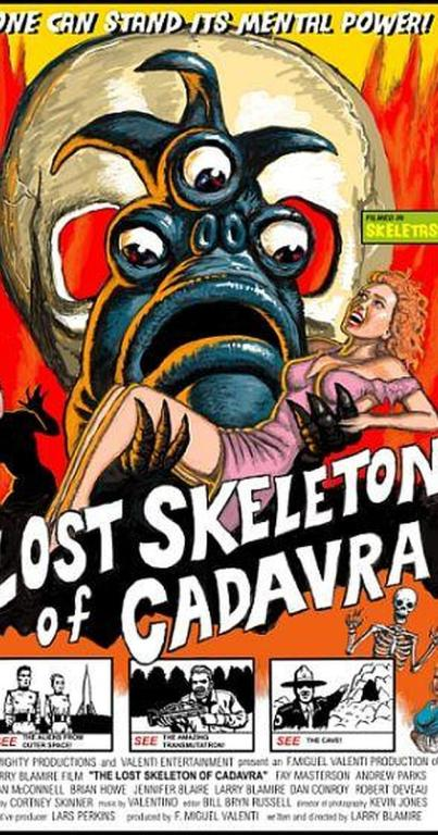 The Lost Skeleton of Cadavra Promotional Poster