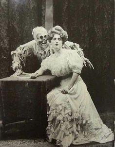 Vintage ghost picture. Public Domain