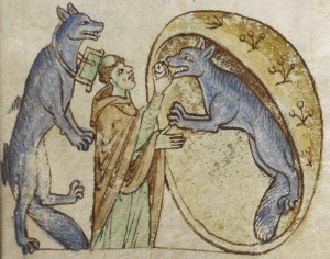 Giving the eucharist to a werewolf is totally above board, as long as the werewolf hasn't been divorced and remarried.