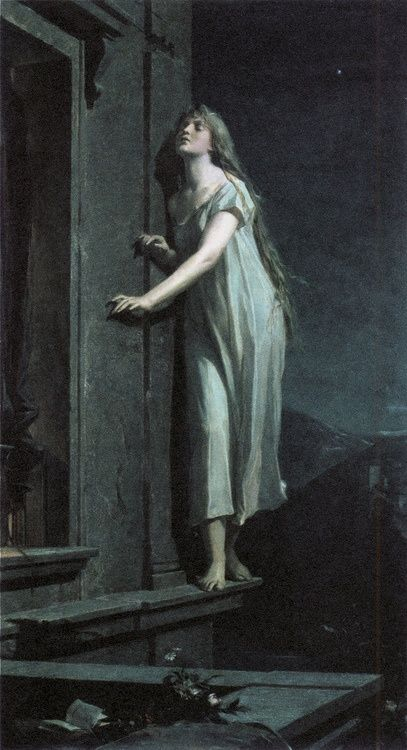 Sleepwalker by Maximilian Pirner, public domain
