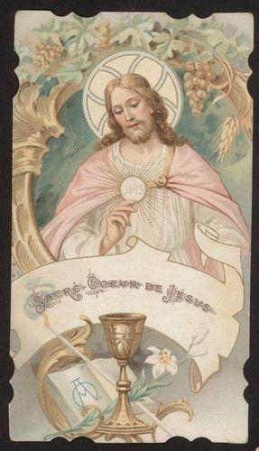 vintage holy card