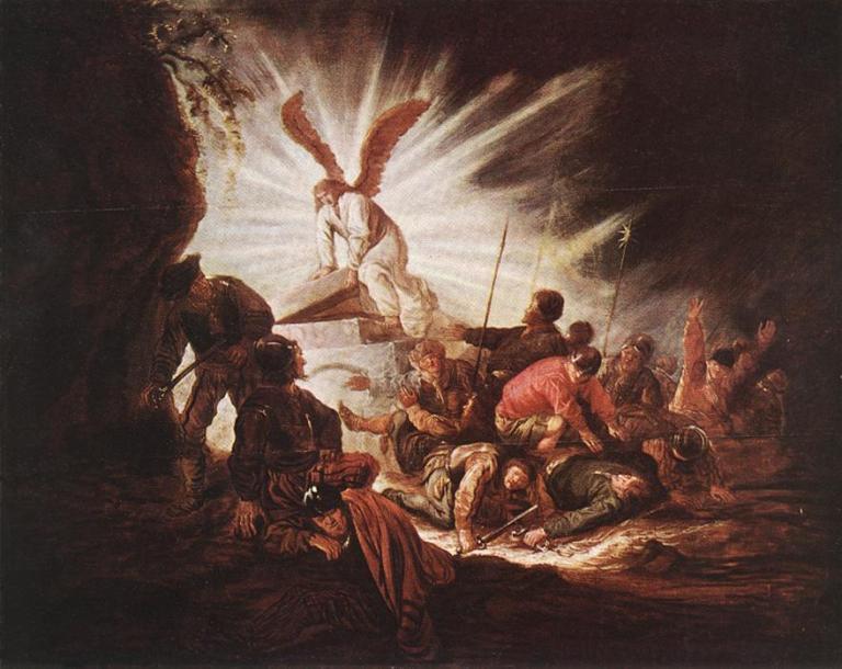 Benjamin_Gerritsz._Cuyp_-_The_Angel_Is_Opening_Christ's_Tomb_-_WGA5844