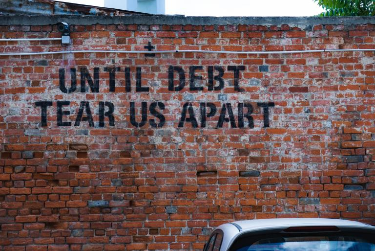 Until debt does us apart