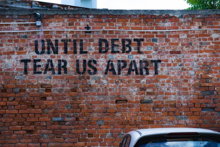 Until debt does us apart