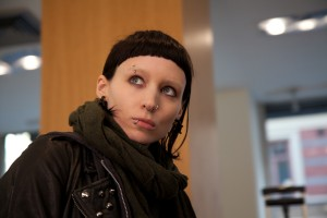 Rooney Mara as The Girl with the Dragon Tattoo