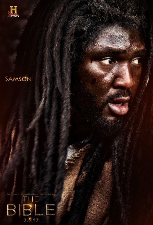 exclusive first look samson from �the bible� miniseries