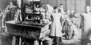 A photo of the Magdalene laundries of the 20th Century