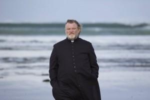 Father James (Brendan Gleeson) in lovely County Sligo