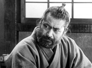 Toshiro Mifune as Doctor Niide (Red Beard)