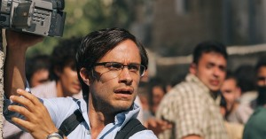 """Gael Garcia Bernal as journalist Maziar Bahari, in """"Rosewater"""""""